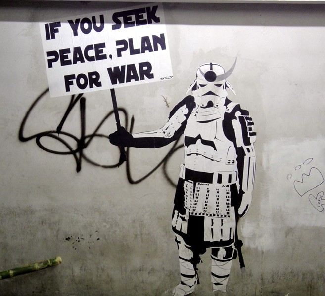 War graffiti